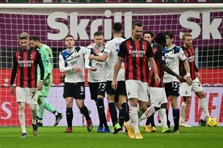 Atalanta made it 10 Serie A games unbeaten with a 3-0 win over AC Milan at San Siro, but the Rossoneri are Italy's winter champions