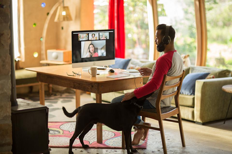 Working from home can be beneficial for people struggling with mental health issues. (Images via Getty Images)