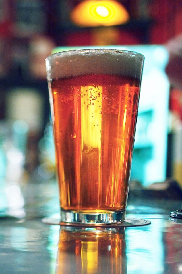 """<p>""""Whilst beer does contain some salt, it also has some redeeming qualities,"""" says Dr Sam. """"It contains antioxidants and other anti-ageing benefits."""" Who knew?!</p><p>""""Plus, beer has less alcohol in it than spirits and people tend to drink it slower so it will have a less dehydrating effect than other more potent forms.""""</p>"""