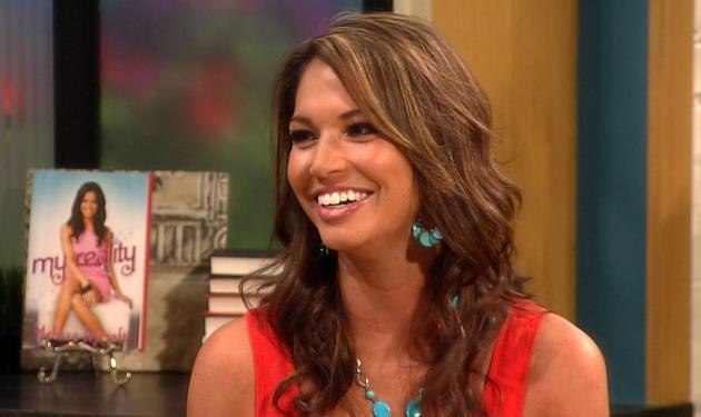 Melissa Rycroft stops by Access Hollywood Live on June 20, 2012 -- Access Hollywood