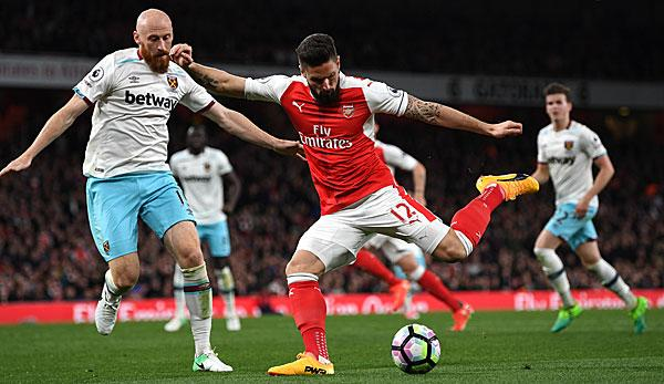 Ligue 1: Berater dementiert Marseille-Interesse an Giroud