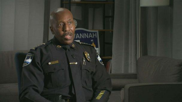 PHOTO: In Georgia, Savannah Police Department Chief Roy Minter speaks about training officers to de-escalate situations. (ABC News )