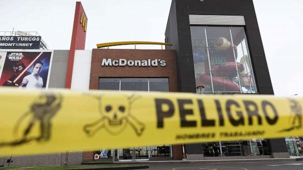PHOTO: A McDonald's restaurant in Lima, Peru, sits closed after the deaths of two workers, Dec. 15, 2019. (El Comercio de Peru via Newscom)