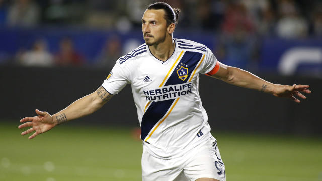 LA Galaxy closed in on Los Angeles FC atop the Western Conference thanks to Zlatan Ibrahimovic.