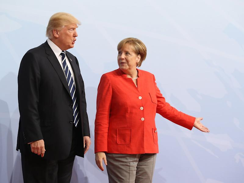 Trump has repeatedly criticised the German government: Sean Gallup/Getty Images