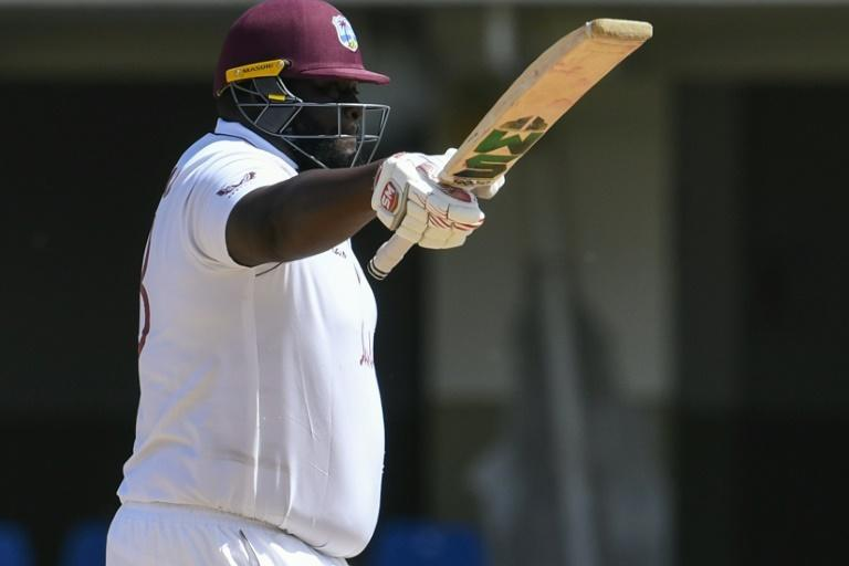 Cornwall again displayed his all-round ability with a second Test fifty