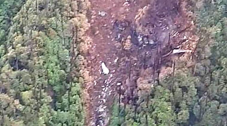 An-32 aircraft, An-32 aircraft crash, IAF An-32 wreckage found, Arunachal Pradesh, Arunachal Pradesh news, Indian Air Force flight crash, An-32 crash site, indian express