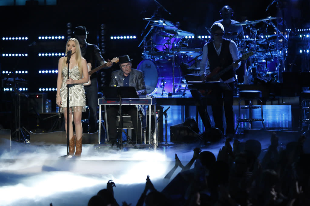 "Danielle Bradbery performs ""Maybe It Was Memphis"" on ""The Final Live Performances"" episode of ""The Voice"" Season 4."