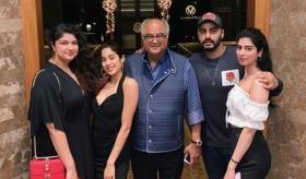 Watch: Kapoor clan celebrates Anshula's birthday