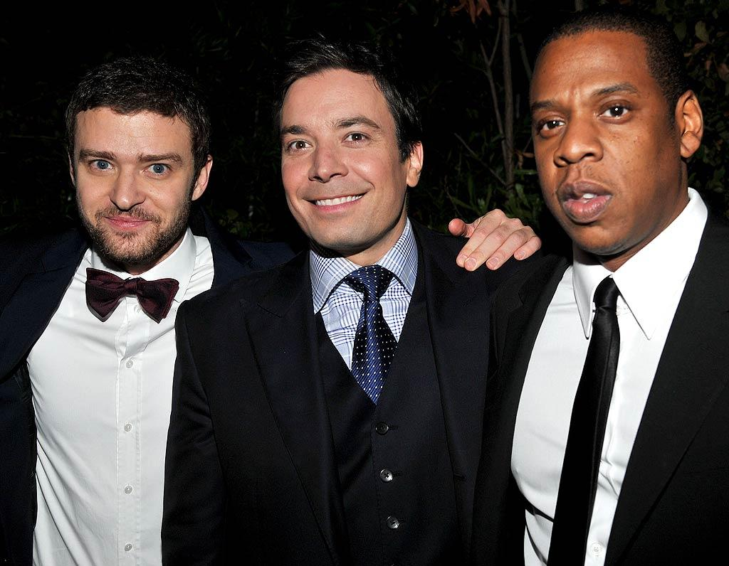 Musician-turned-actor Justin Timberlake, late-night host Jimmy Fallon, and hip-hop mogul Jay-Z were just three of the honorees at GQ's16th Annual Men of the Year party, held at Hollywood's fabled Chateau Marmont on Thursday night. (11/17/2011)