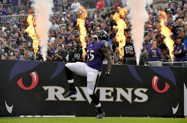 Even at 34, Terrell Suggs keeps producing. But he needs some help. (Getty)