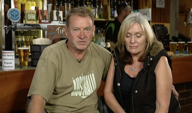 Paul Parker speaking on The Project with his partner, Tanya, on Sunday night. Source: The Project