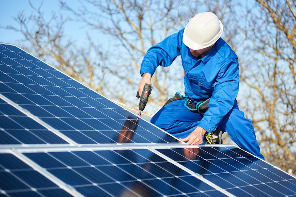 The most common improvement that is recommended in EPCs is to install solar panels. Photo: Getty Images