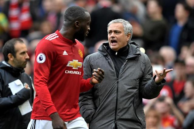 Manchester United's Romelu Lukaku insists Jose Mourinho relationship is 'perfect'