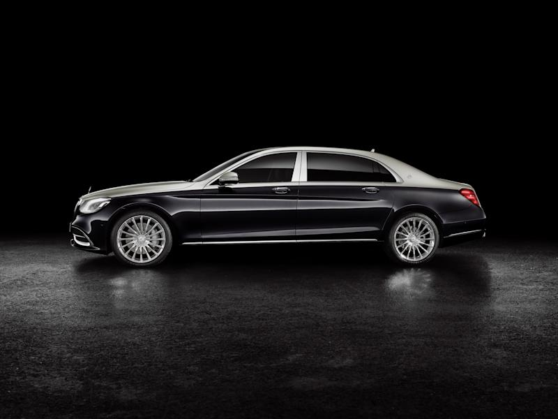 The new 2019 Mercedes-Maybach S-Class is nearly 18 feet long, making it 10 inches longer than any previous model.