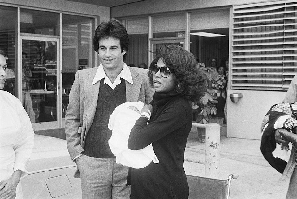 <p>Throughout the '70s, Diana Ross and Robert Ellis Silberstein grew their family, welcoming a second daughter, Tracee, in 1972 and a third, Chudney, in 1975. </p>