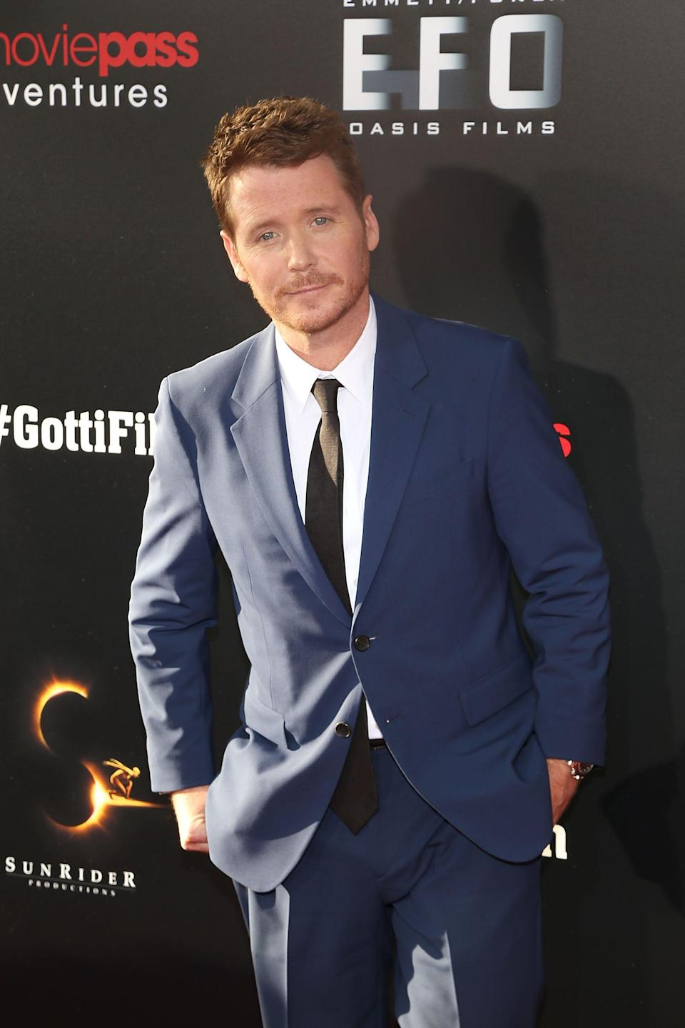 """Kevin Connolly attends the New York Premiere of """"Gotti"""" at SVA Theater on June 14, 2018 in New York City."""