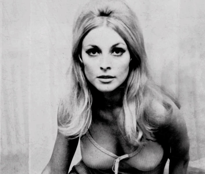 """FILE - Actress Sharon Tate is shown in this undated file photo. Tate was a model and rising film star after her breakout role in the 1966 film, """"Valley of the Dolls."""" She was 8-1/2 months pregnant when she was attacked as she pleaded with her Manson Family killers to spare the life of her unborn son on Aug. 9, 1969. (AP Photo/File)"""