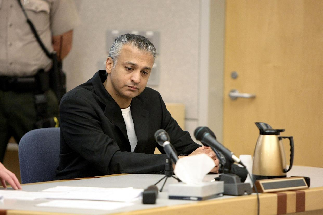 Shelley Malil at his sentencing in 2010. (Photo: Jerod Harris/Getty Images)