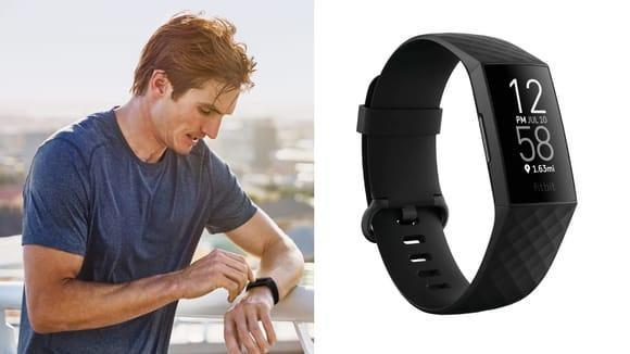 Best Valentine's Day gifts for men: Fitbit Charge 4.