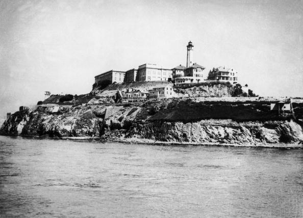 UNITED STATES - MARCH 05: Overall View Of The Alcatraz Penitentiary Located In The San Francisco Bay In 1946. Alcatraz Became The Harshest And The Most Secured Prison In The Usa In 1933. After 1033 People Had Been Held Prisoners, It Would Officially Close Its Doors On March 21, 1963. (Photo by Keystone-France/Gamma-Keystone via Getty Images)