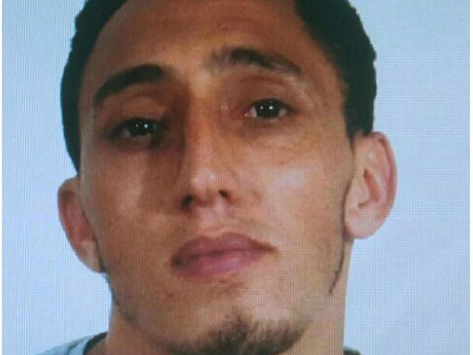 Driss Oukabir is reported to have lived around 80 miles north of Barcelona: EPA