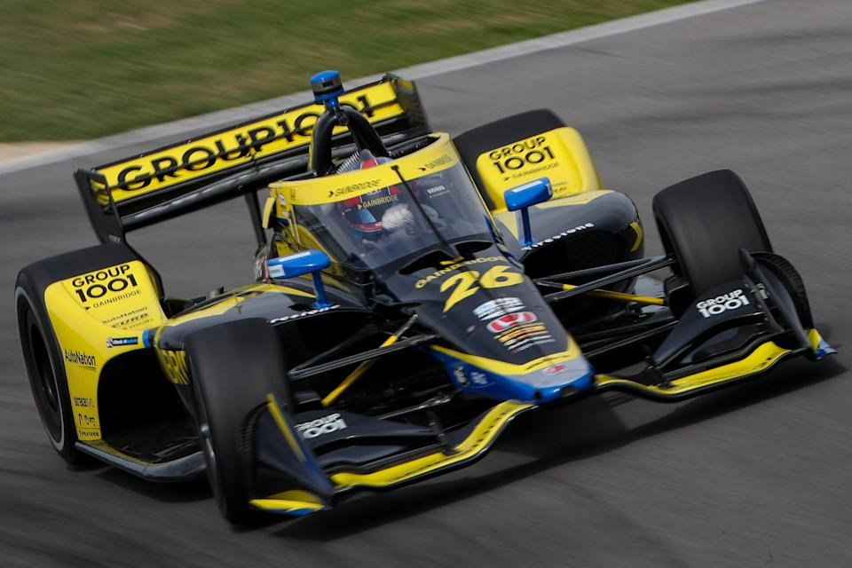 After starting 9th, Herta became a casuality of Josef Newgarden's Lap 1 spin in the season-opening IndyCar race last weekend at Barber Motorsports Park.