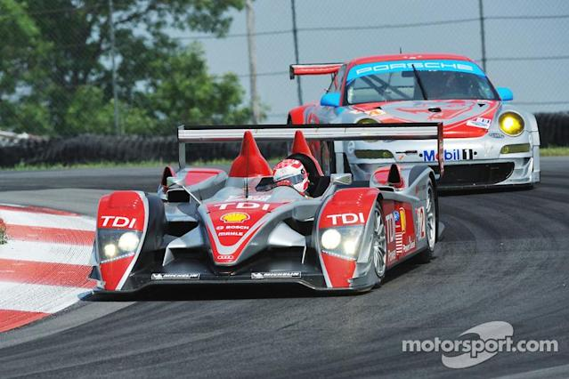 "#2 Audi Sport North America Audi R10 TDI: Lucas Luhr, Marco Werner <span class=""copyright"">Larry Kuivila</span>"