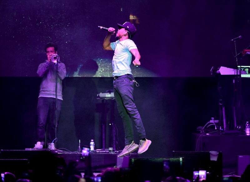 """Chance The Rapper's is now in the running for seven Grammys for """"Coloring Book,"""" streaming-only release"""