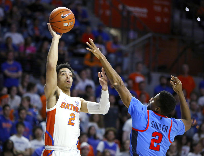 Gators Guard Andrew Nembhard Has Flu Could Miss Auburn Game