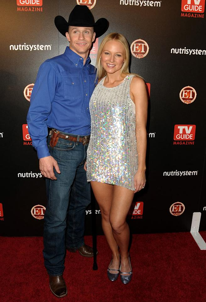 """Despite her omission from this year's list, Jewel stole the spotlight in a sparkling mini, while her man Ty Murray kept it casual in his country attire. Jordan Strauss/<a href=""""http://www.wireimage.com"""" target=""""new"""">WireImage.com</a> - March 24, 2009"""