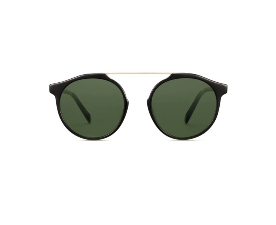 """<p><strong>Warby Parker</strong></p><p>warbyparker.com</p><p><strong>$145.00</strong></p><p><a href=""""https://go.redirectingat.com?id=74968X1596630&url=https%3A%2F%2Fwww.warbyparker.com%2Fsunglasses%2Fwomen%2Fcooper%2Fjet-black-with-riesling&sref=https%3A%2F%2Fwww.townandcountrymag.com%2Fstyle%2Ffashion-trends%2Fg36049858%2Fmeghan-markle-sunglasses%2F"""" rel=""""nofollow noopener"""" target=""""_blank"""" data-ylk=""""slk:SHOP NOW"""" class=""""link rapid-noclick-resp"""">SHOP NOW</a></p><p>A very similar pair of what Meghan had on. This isn't precisely how the OG ones looked like, but who would know? And fun fact about these ones from Warby is that there's also the option to make them prescription sunglasses for those who want a two-in-one deal.</p>"""