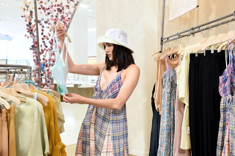 Finding summer fashions designed for larger chested women has become more difficult. (Photo by Ilya S. Savenok/Getty Images for Nordstrom)