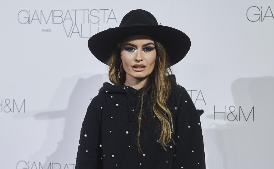MADRID, SPAIN - NOVEMBER 05: Spanish influencer Madame de Rosa attends the presentation of new colletion 'Giambattista Valli x HM' on November 05, 2019 in Madrid, Spain. (Photo by Borja B. Hojas/Getty Images)