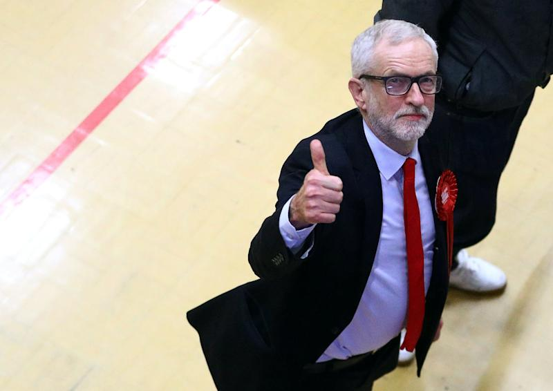 Britain's opposition Labour Party leader Jeremy Corbyn arrives at a counting centre in Islington during Britain's general election, London, Britain December 13, 2019. REUTERS/Hannah McKay (Photo: Hannah Mckay / Reuters)