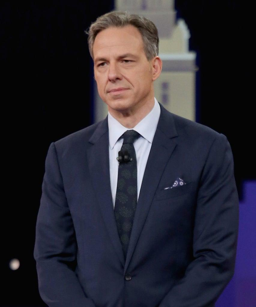 AUSTIN, TEXAS – MARCH 10: Jake Tapper speaks during the 'CNN Democratic Town Hall' at ACL Live at The Moody Theater during the 2019 SXSW Conference And Festival on March 10, 2019 in Austin, Texas. (Photo by Gary Miller/FilmMagic)