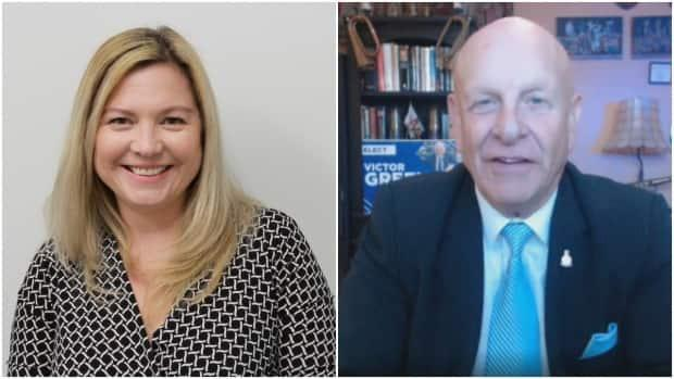 Beth Charron Rowberry is running for the PPC in Essex while Victor Green is running in Windsor–Tecumseh. ( Kaitie Fraser/CBC and courtesy Beth Charron Rowberry - image credit)