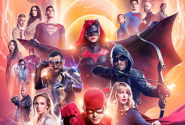 Image result for arrowverse crisis on infinite earths