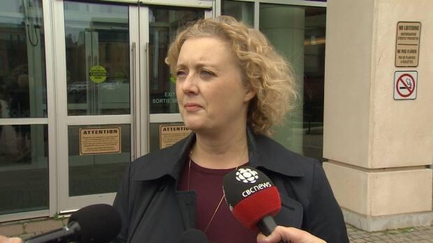 New Brunswick municipal electoral officer Kim Poffenroth is hopeful elections for municipal councils. district education councils and regional health authorities will happen without incident on May 10.  But she is glad there is legislation in case of COVID-19 lockdown issues. (Roger Cosman/CBC - image credit)