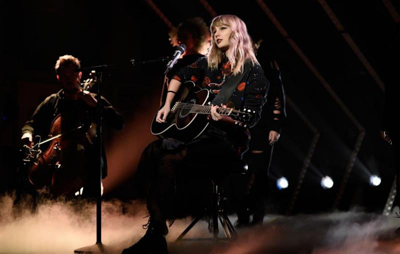 Taylor has come back with a bang with her new album. She performed on Saturday Night Live over the weekend. Source: Getty