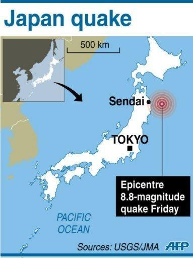 A massive 8.8-magnitude earthquake shook Japan on Friday, unleashing a powerful tsunami that sent ships crashing into the shore and carried cars through the streets of coastal towns