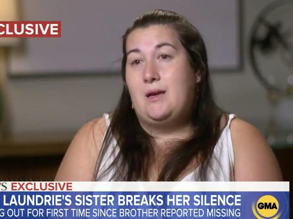 Brian Laundrie's sister, Cassie Laundrie.