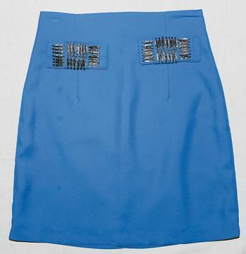 blue rubey skirt $1,299