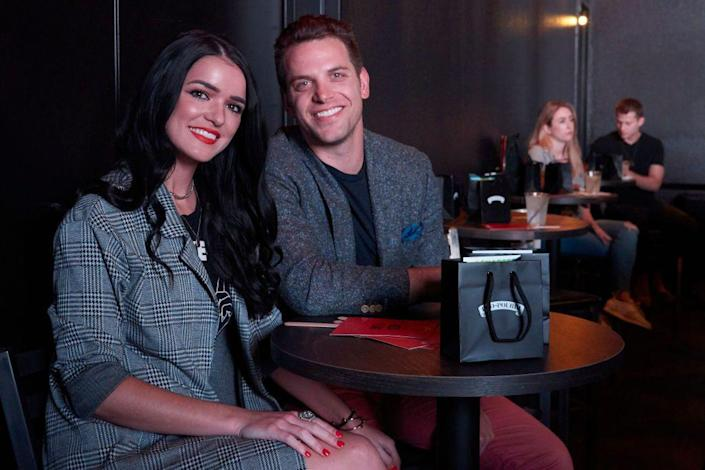 """<p>The relationship between Raven (from Nick's season of <em>The Bachelor</em>) and Adam (from <a href=""""https://www.womenshealthmag.com/life/a28713712/rachel-lindsay-bachelorette-fantasy-suite/"""" rel=""""nofollow noopener"""" target=""""_blank"""" data-ylk=""""slk:Rachel Lindsay"""" class=""""link rapid-noclick-resp"""">Rachel Lindsay</a>'s season of <em>The Bachelorette</em>) was a highlight on season four of <em>Bachelor in Paradise</em>.</p><p>When the season wrapped, the couple chose to continue dating outside the show instead of getting engaged right away. But, two years later, Adam proposed on a rooftop in Dallas. The two planned to get married in July 2020, but had to postpone the date due to the COVID-19 pandemic.</p>"""