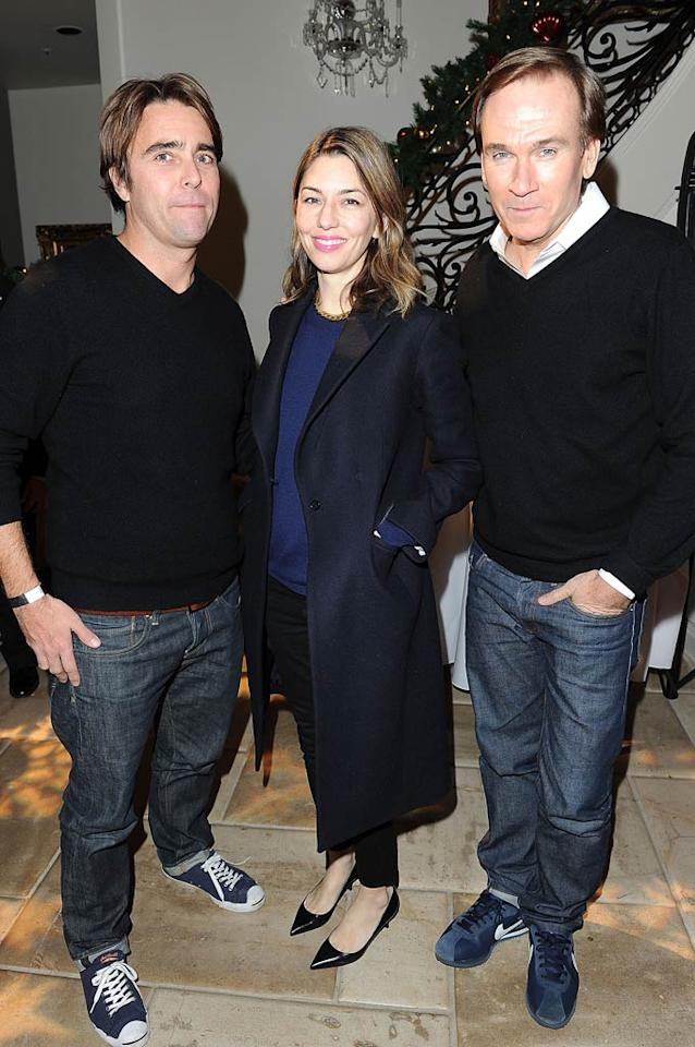 Interestingly enough, Sofia Coppola was also in attendance. The director is reportedly working on a film about the group of teens -- dubbed the Hollywood Bling Ring -- who broke into the homes of several celebs including Paris Hilton, Orlando Bloom, Lindsay Lohan, and Megan Fox in 2009. (12/07/2011)