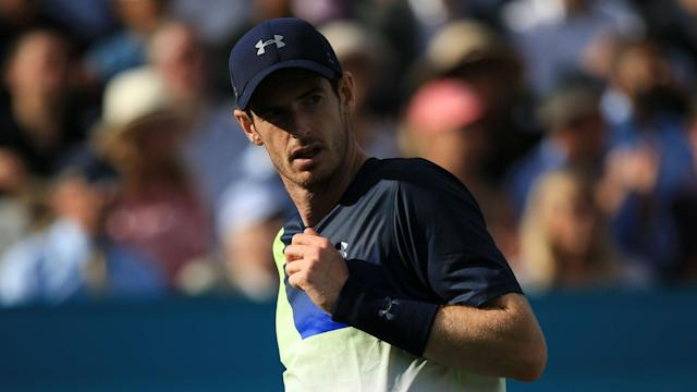 Former world number one Andy Murray is back on the winning trail after comprehensively defeating Stan Wawrinka in Eastbourne.