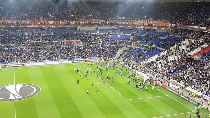 Lyon and Besiktas given suspended two-year UEFA bans
