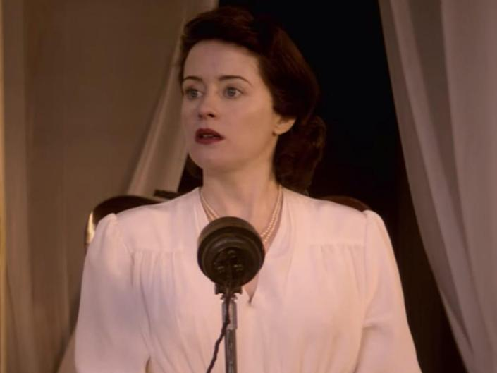 """Claire Foy on season four of """"The Crown."""""""