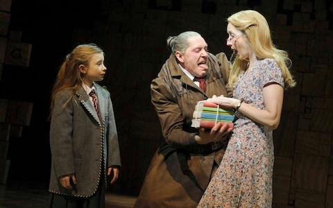 Matilda,The Musical, a production from the Royal Shakespeare Company - Credit: Alastair Muir
