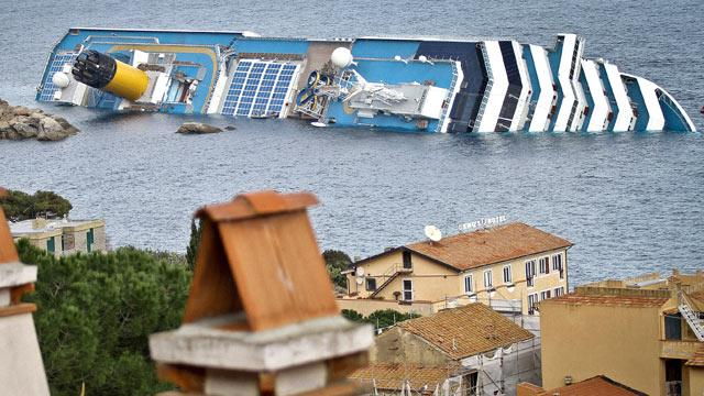 Cruise Ship Wreck: Search Suspended After Ship Moves